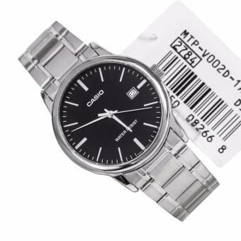 Casio Men's Stainless Steel Strap Business Watch MTP-V002D-1A - 4