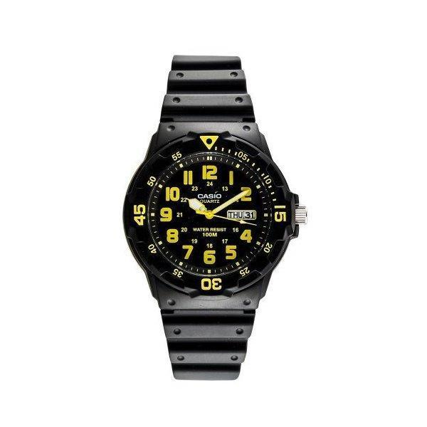 Casio Men's Sport Black/Yellow Analog Dive Watch MRW-200H-9BVDF product preview, discount at cheapest price
