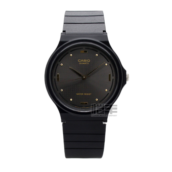 Casio mq-76-2a simple black men's resin with men's watch