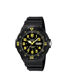 Casio MRW-200H-9B Watch with 1 Year Warranty (T1Y)