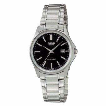 Casio Silver Stainless Steel Watch for Women LTP-1183A-1ADF