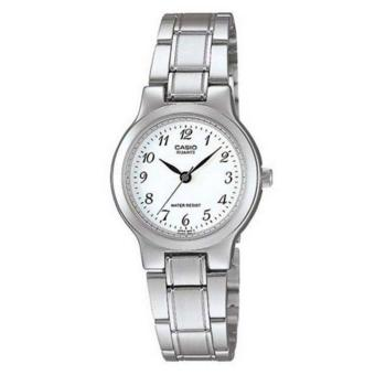 Casio Standard Business Women Silver Stainless Strap WatchLTP-1131A-7BRDF