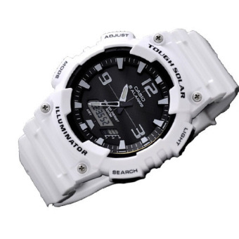 Casio Tough Solar Men's White Resin Strap Watch AQ-S810WC-7AVDF - picture 2