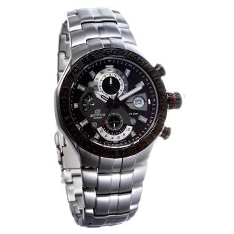 Casio Watch Edifice Silver Stainless-Steel Case Stainless-Steel Bracelet Mens NWT + Warranty EFE-505D-1A Price Philippines