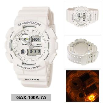Casio Watch G-SHOCK G-LIDE White Resin Case Resin Strap Mens NWT +