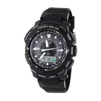 Jual jam tangan pria sport sevenfriday . Source · Philippines Casio Watch PROTREK Tough Solar Black Stainless Steel Case Resin Strap Mens .