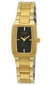 Casio Women's Gold Stainless Steel Strap Watch LTP-1165N-1CRDF
