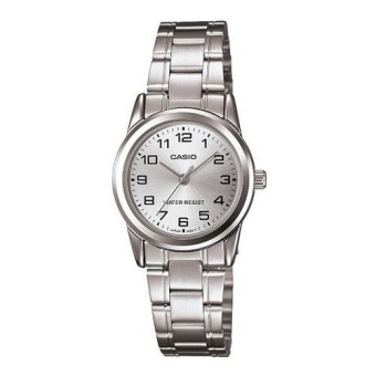 Casio Women's Silver Stainless Steel Band Watch LTP-V001D-7BUDF