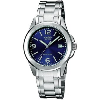 Casio Women's Silver Stainless Steel Strap Watch LTP-1215A-2ADF