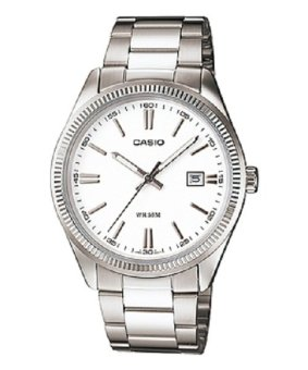 Casio Women's Silver Stainless Steel Strap Watch LTP-1302D-7A1VDF