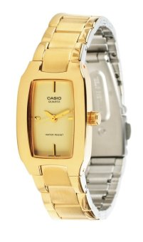Casio Women's Gold Stainless Steel Strap Watch LTP-1165N-9CRDF