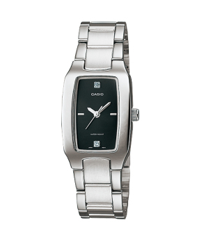 Casio Women's Silver Stainless Steel Strap Watch LTP-1165A-1C2DF