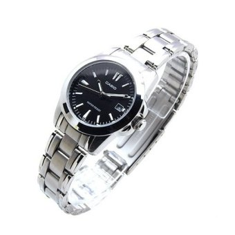 Casio Women's Silver Stainless Steel Strap Watch LTP-1215A-1A2DF