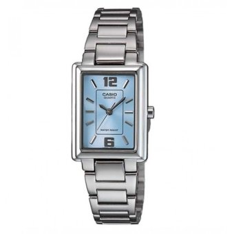 Casio Women's Silver Stainless Steel Strap Watch LTP-1238D-2ADF