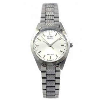 Casio Women's Silver Stainless Steel Strap Watch LTP-1274D-7ADF