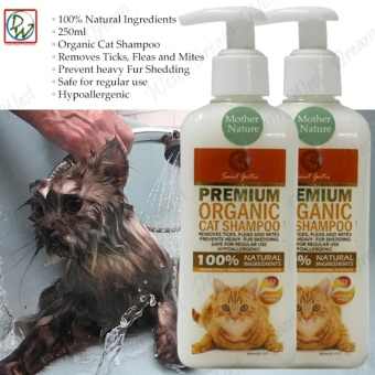 Cat Shampoo Saint Roche Premium Organic 250mL (Mother Nature) Setof 2