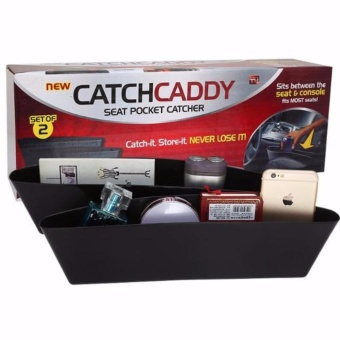 CATCH CADDY As Seen on TV Car Organizer Seat Pocket Catcher