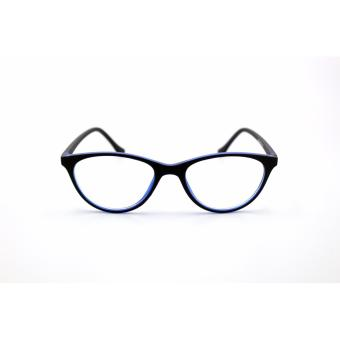 Cats Eye Style Replaceable 659_Black_Blue Computer Eyeglasses Multi-coated Computer Anti-Radiation Blue Lens _ Optical Frame Replaceable Lens - Unisex - 2