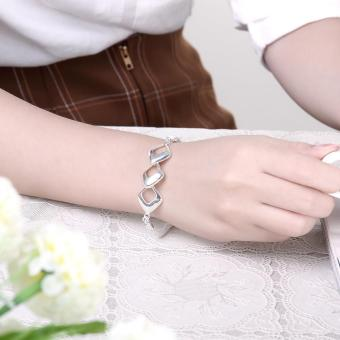 Charming china supplier love forever silver bracelet (Intl) - picture 2