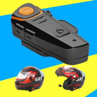 CHEER BT-S2 Waterproof Motorcycle Wireless Bluetooth Helmet Intercom Interphone Headset - intl