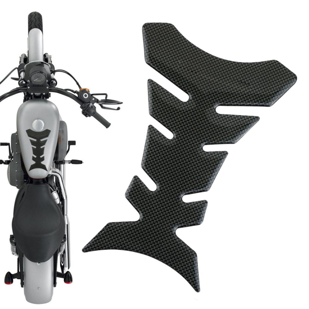 CHEER Carbon Fiber Tank Pad CBR 600 1000 Protector Sticker For Honda Motorcycle .