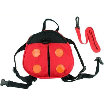 Children Anti-lost Walking Wings Baby Kid Safety Harness StrapLadybug Bag