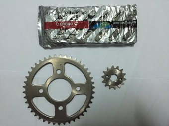 Choho Motorcycle Sprocket and Chain Set 45-14 HondaTMX155/Rusi/Racal