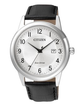 Citizen Men's Eco-Drive Analog Leather Watch AW1231-07A - intl