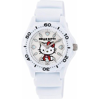 CITIZEN Watch Hello Kitty (Hello Kitty) Diver analog display 10 ATMwater resistant white VQ75-431 Women's - intl Price Philippines