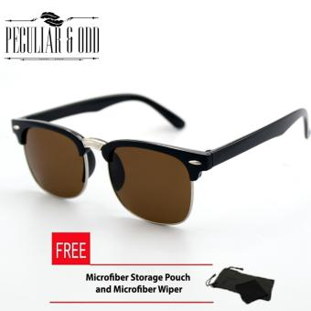 Clubmaster Classic Square Sunglasses with Brown Flash Lenses R_3398/97 Price Philippines