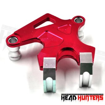 CNC MIO Alluminum Brake Caliper Cover (Red)
