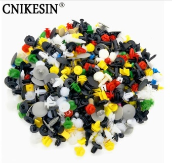 CNIKESIN 300Pcs Universal Mixed Auto Fastener Car Bumper Clips Retainer Car Fastener Rivet Door Panel Fender Liner for all car - intl