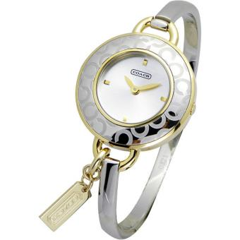Coach Stainless Steel Two Toned Bangle Watch