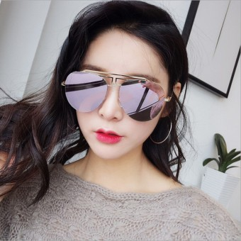 Cool Hong celebrity inspired face-lift retro sunglasses Stylish sun mirror