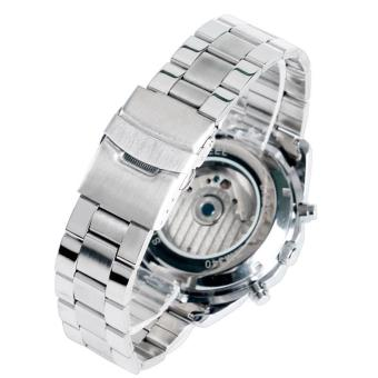 Cool Luxury Brand Forsining Wrist Watch Men Stainless Still Mechanical Watch Mens Dress Watch Gift for Male - intl - 3