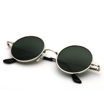 Cool round eye New style driving glasses retro sunglasses