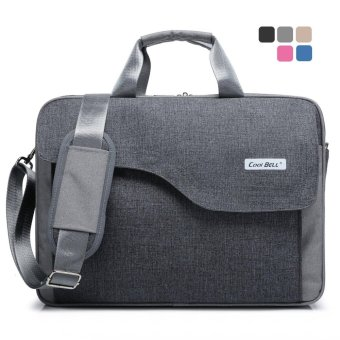 CoolBell 15 / 15.6 Inch Nylon Laptop Bag Shoulder Bag With Strap Multi-compartment Messenger Hand Bag Briefcase for men women briefcase sleeve for Dell Lenovo HP 15.6'' ULTRABOOK - intl