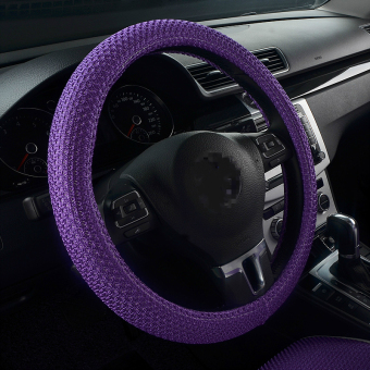 Corolla H6 breathable viscose fibre car steering wheel cover to cover
