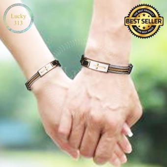 Couple Cross Premium Stainless Steel Bracelet for Women and Men