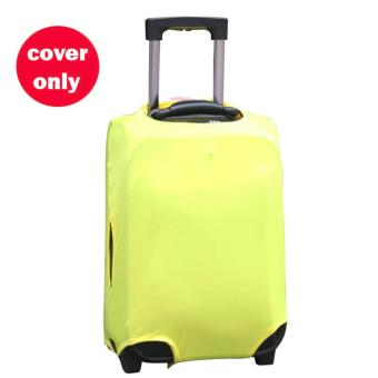 (Cover only) Elite Luggage Cover / Suitcase Cover / Cover - YellowMedium