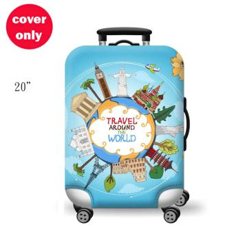 (Cover only) Elite Luggage Cover / Suitcase Cover (Travel)-small