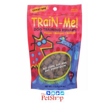 Crazy Dog Train-Me Training Reward (113.4g Bacon Flavor) -