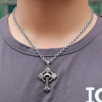 Cross pendant, fashion necklace for men and women - intl