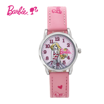 CROWN cute crystal lovely girl's quartz watch
