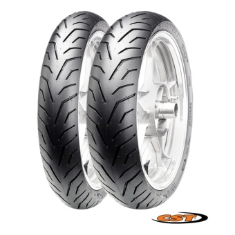 CST Scooter Tubeless 2xTires Set for Yamaha Mio Sporty (Front:70/90-14 Rear: 80/90-14) C6501