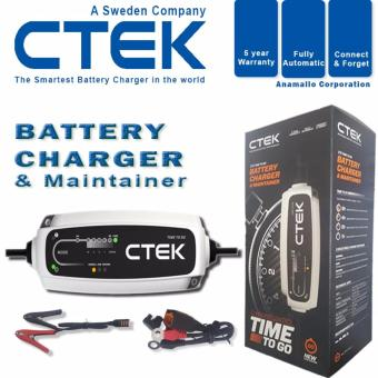 CTEK CT5 TIME TO GO