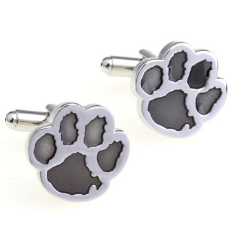 Cute fun style bear's cufflinks