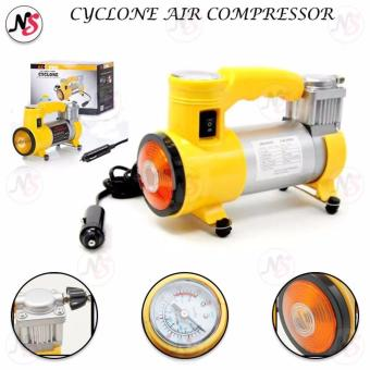 CYCLONE Heavy Duty Air Compressor w/ Working Light (Yellow)