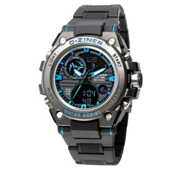 D-ZINER AK-8139 Sport Watch Resin Strap Watch Price Philippines