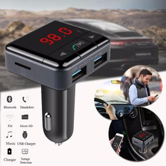 D&D BC12B Wireless Bluetooth Handsfree Car Kit FM TransmitterRadioSupport U Disk MP3 Player Phone APP Control Car Charger Price Philippines